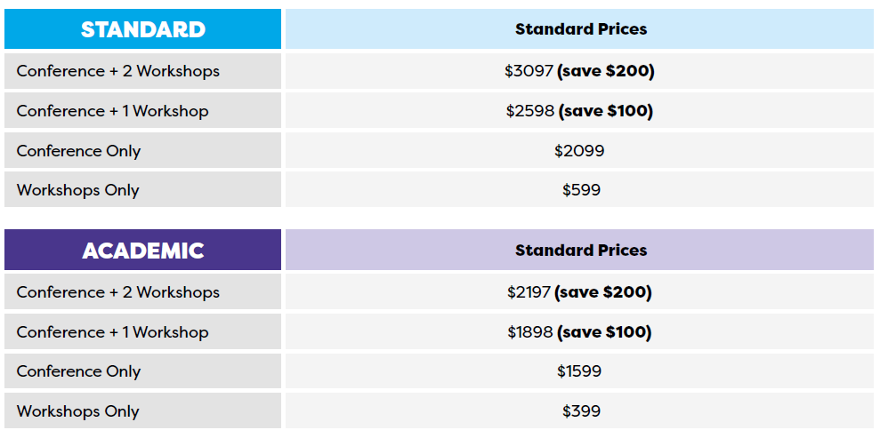 iCDP Pricing Grid