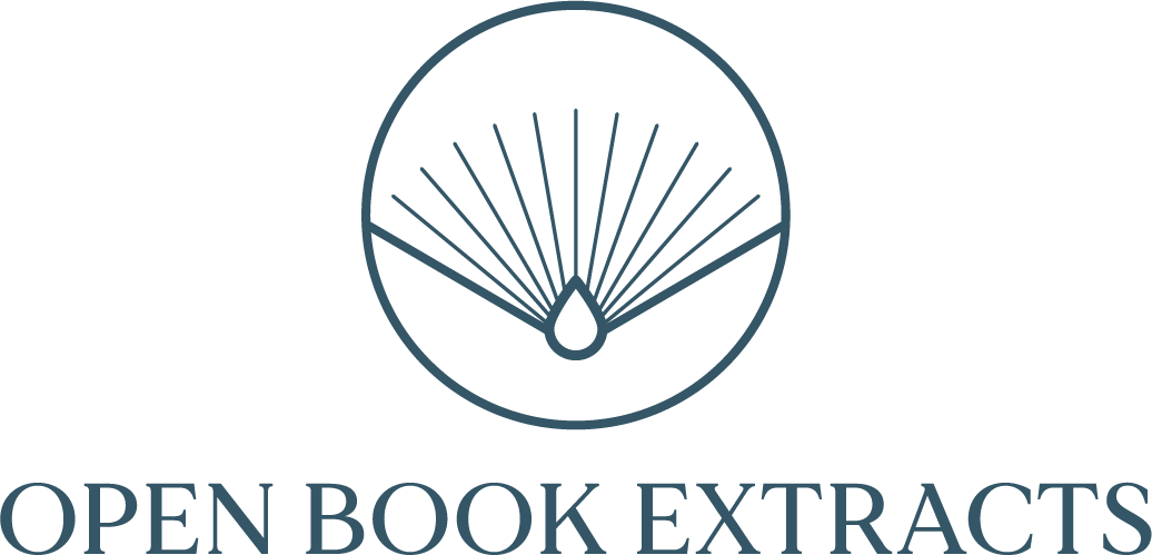 Open Book Extracts Logo (Deep Blue)